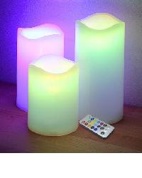 Velas LED con Control Remoto