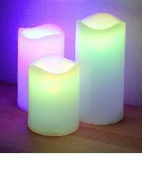Velas LED de Colores