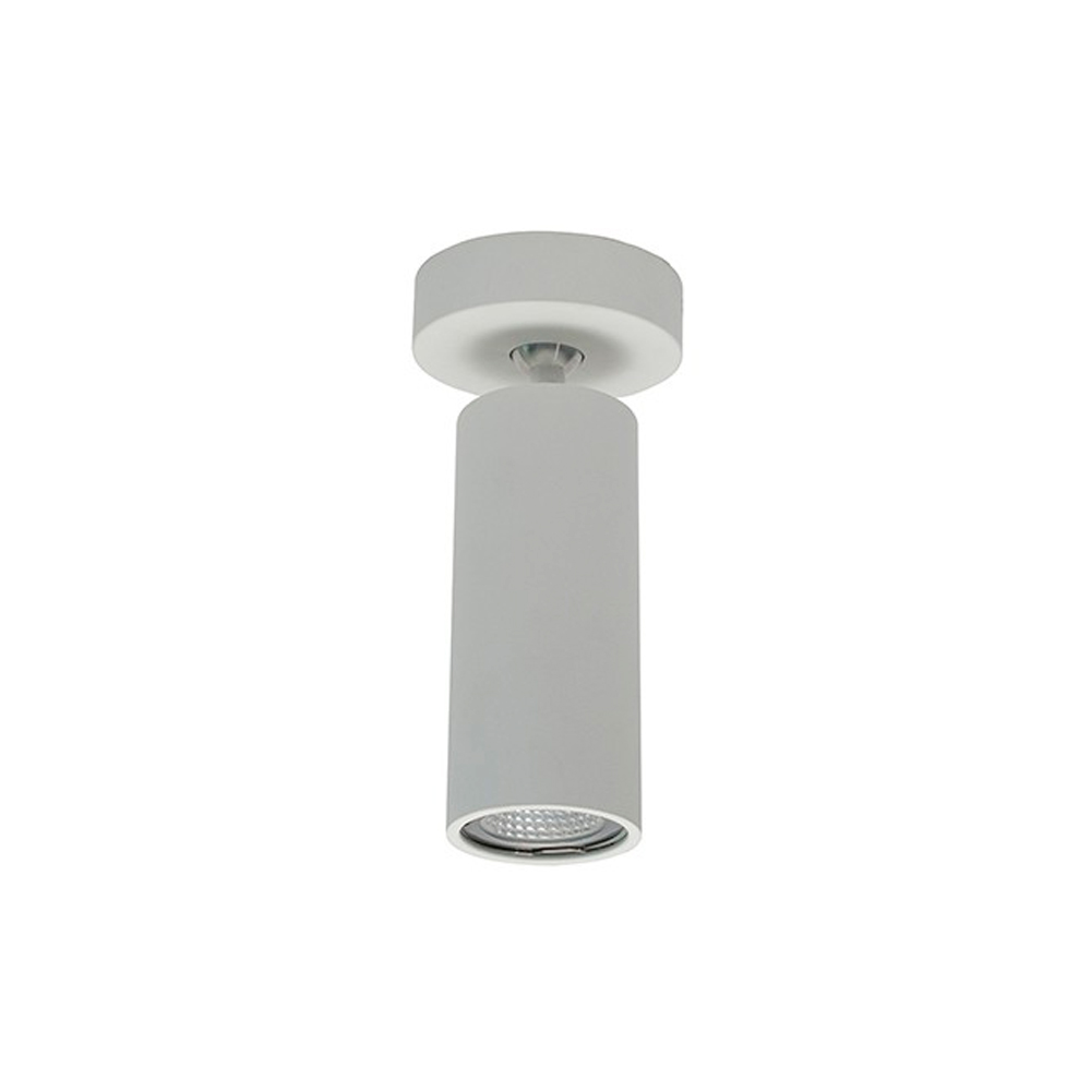 Cilindro orientable blanco mate altura 185mm